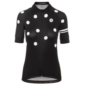 AGU Essential Dot Short Sleeve Jersey Women black/white
